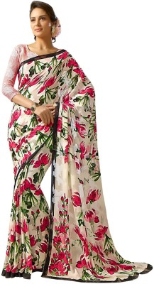 Styleworld Printed Fashion Georgette Sari