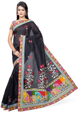 Izaa Fashion Embellished Bollywood Cotton Sari
