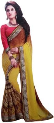 Arohee Embriodered Bollywood Georgette Sari