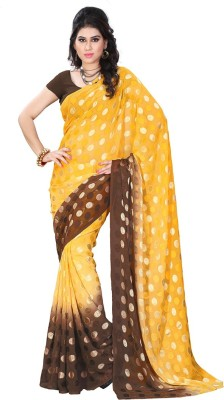 Online Adda Printed Fashion Brasso Sari