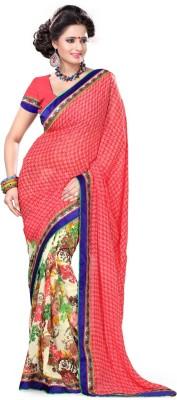 leepsprints Printed Fashion Georgette Sari