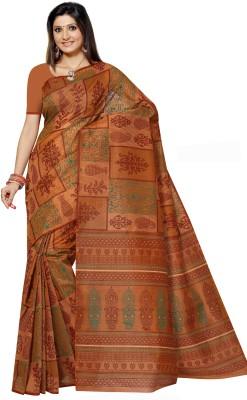 Shama Printed Daily Wear Handloom Cotton Sari