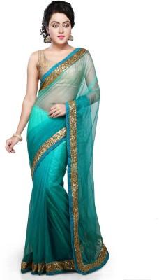 Bay & Blue Embriodered Fashion Net Sari