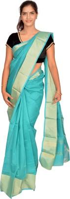 Jagadamba Plain Fashion Cotton Sari