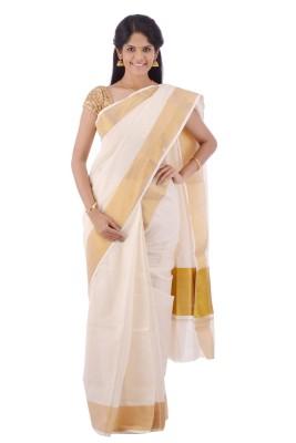 Creative Weaves Plain Thanjavur Cotton Sari