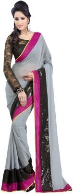 Arissa Self Design Fashion Handloom Chiffon Sari