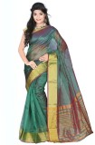 Alberts Solid Bollywood Art Silk Saree (...