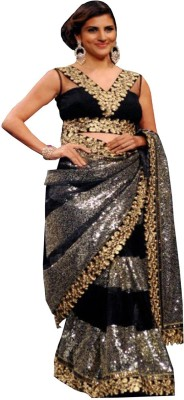 Mert India Embriodered Bollywood Modal Sari