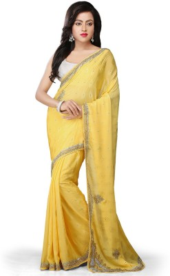 Bay & Blue Embriodered Fashion Handloom Jacquard Sari