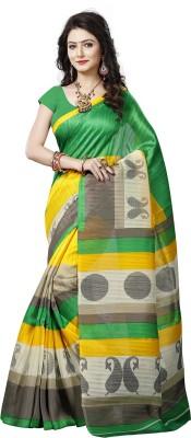 VASTRAKALA Printed Bollywood Printed Silk Sari