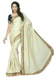 Dobiansons Solid Fashion Crepe Sari