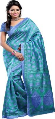 Ayushi Saree Printed Bhagalpuri Silk Sari available at Flipkart for Rs.351