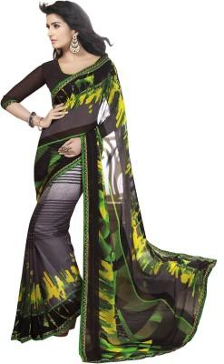 Vss Collections Printed Bollywood Handloom Chiffon Sari
