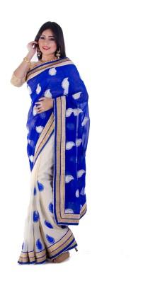 Aryya Embriodered Bollywood Georgette Sari