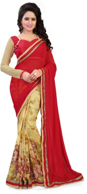 Lavniya Printed Bollywood Georgette Sari