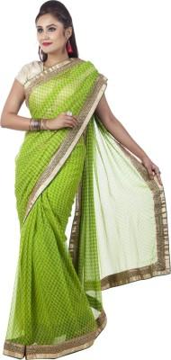 Kalaniketan RJP Group Embellished Fashion Chiffon Sari