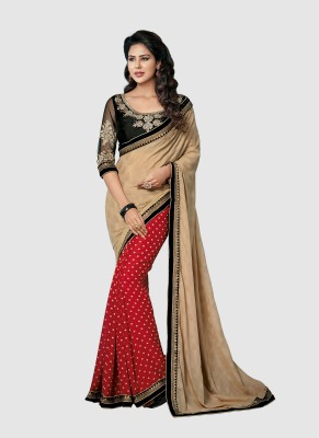 Dhnet Embriodered Fashion Handloom Jacquard Sari