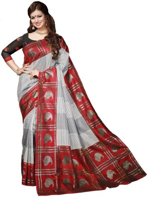 Padam Creation Printed Bhagalpuri Art Silk Sari