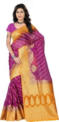 Indi Wardrobe Woven Banarasi Silk Sari