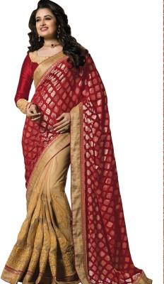Snehaa Fashion World Self Design Fashion Jacquard Sari