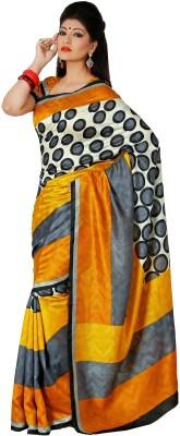 365 Labels Self Design Mangalagiri Art Silk Sari