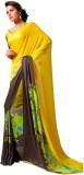 Styleworld Printed Fashion Georgette Sar...