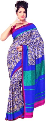 Shree Vaishnavi Printed Bollywood Raw Silk Sari