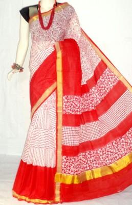mcls fashion Printed Fashion Cotton Sari