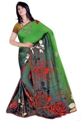 Shree Sanskruti Printed Fashion Satin Sari
