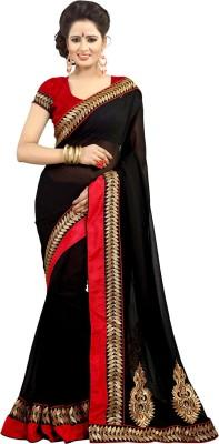 Anshika Lifestyle Embriodered Bollywood Pure Chiffon Sari