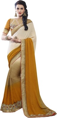 Kvsfab Embriodered Fashion Jacquard Sari