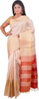 Kamakshi Silks Self Design Fashion Handloom Silk Sari