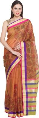 chhabra xclusive Printed Chanderi Chanderi Sari