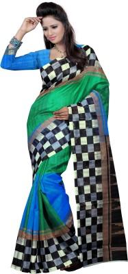 Raviraj Printed Bhagalpuri Art Silk Sari
