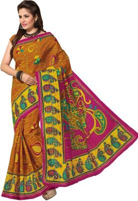 Hi-Choice Paisley Fashion Cotton Sari