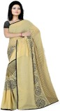Pawan Tex Printed Fashion Satin Saree (B...