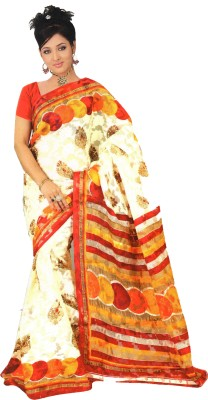 anucrit saree Printed Fashion Georgette Sari
