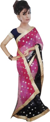 M.S.Center Printed Fashion Synthetic Georgette Sari