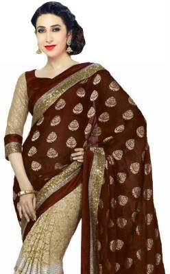Aenu Trends Self Design Fashion Viscose Sari