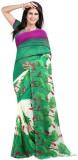 Panchi Printed Fashion Georgette Sari (M...