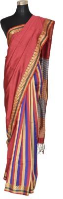 AtiGrens Printed Phulia Cotton Sari