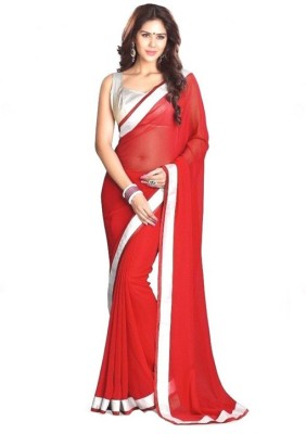 Hexo Solid Fashion Georgette Sari