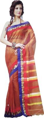 Shaarada Plain Venkatagiri Silk Cotton Blend Sari