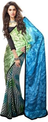 Wama Fashion Printed Fashion Jacquard Sari