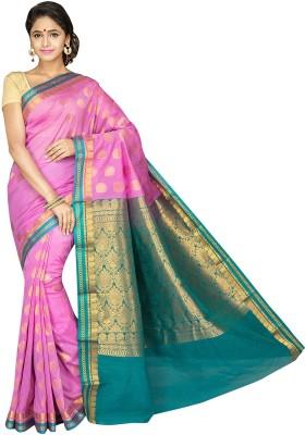 Aditi Fashions Self Design Fashion Banarasi Silk Sari