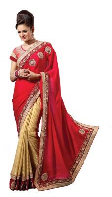 Nilu Tex Embriodered Bollywood Handloom Pure Georgette Sari