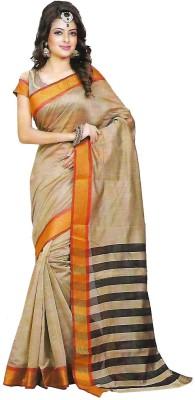 TrulyDesi Solid Mysore Silk Sari