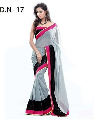 Mamta Synthetic Self Design Bollywood Pure Chiffon Sari
