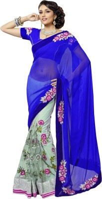 FNF Self Design Fashion Georgette Sari
