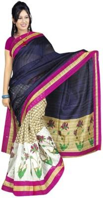 Dks Designer Printed Bhagalpuri Art Silk Sari